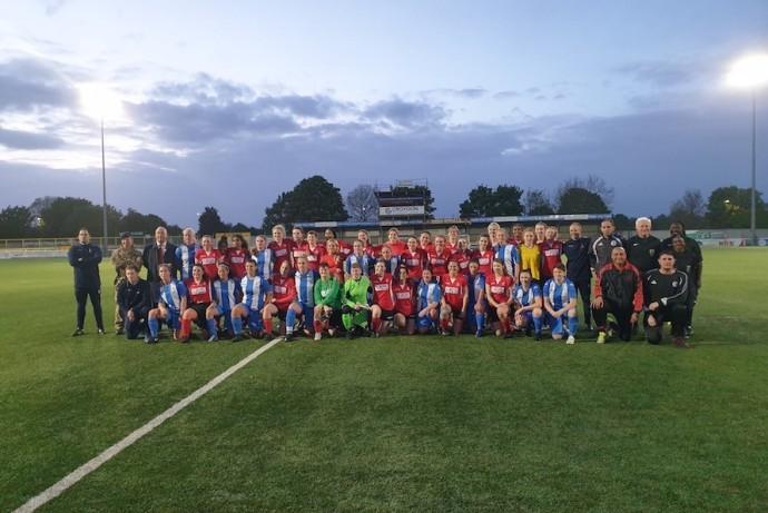 Civil Service Women's Inaugural Football Match