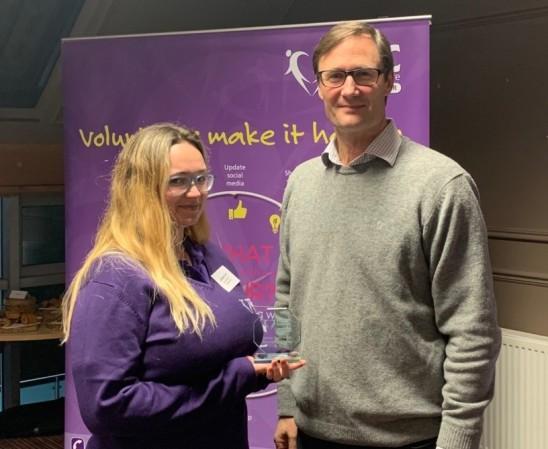 Hannah shares why she loves volunteering!