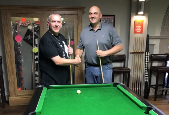 Southend Colleagues Clash in Pool Plate Final
