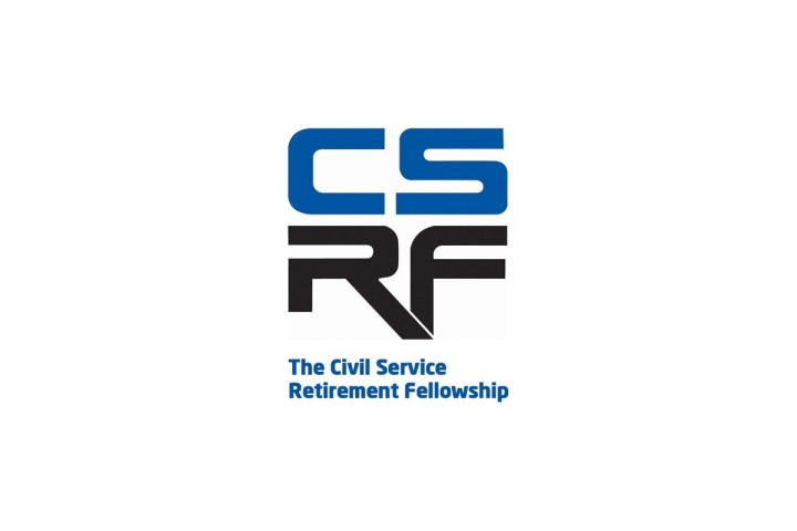 Civil Service Retirement Fellowship logo on a white background