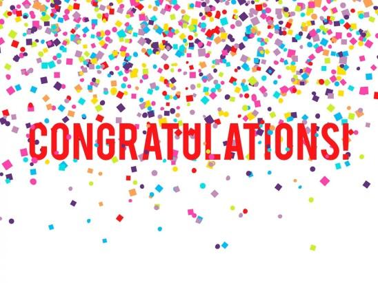 Congratulations to John West