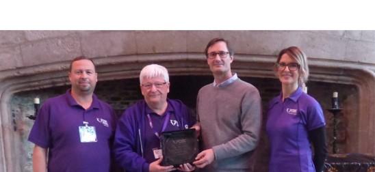 Cornwall Chair wins Volunteer Award