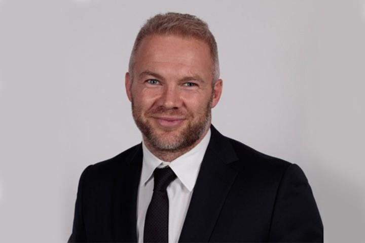 Male board member portrait photo