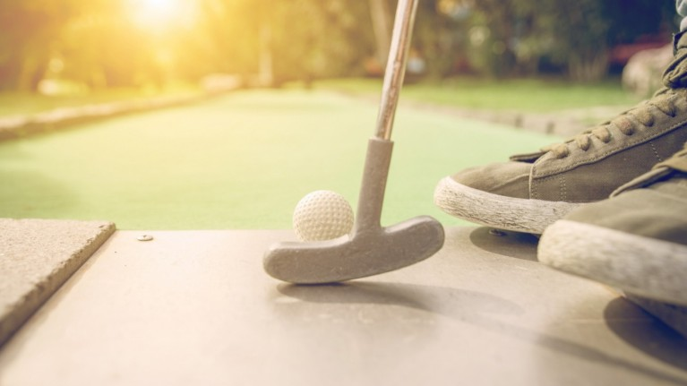 Adventure Golf at Fife Leisure Park, Dunfermline