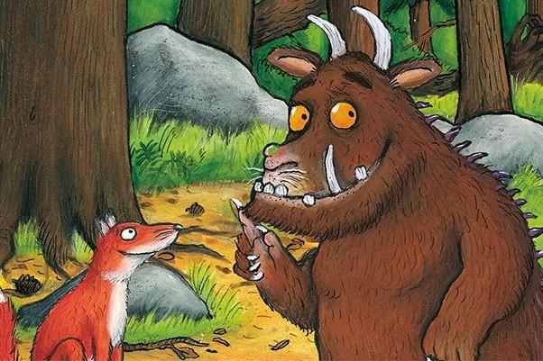 The Gruffalo and fox