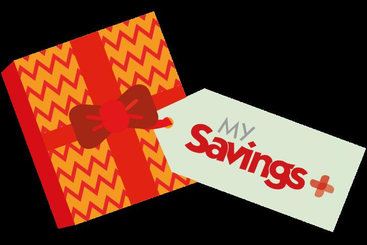 My Savings+ logo