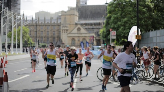 ASICS London 10k with The Charity of Civil Servants