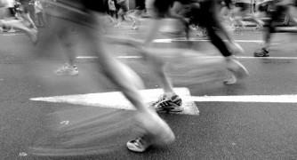The London Marathon 2021